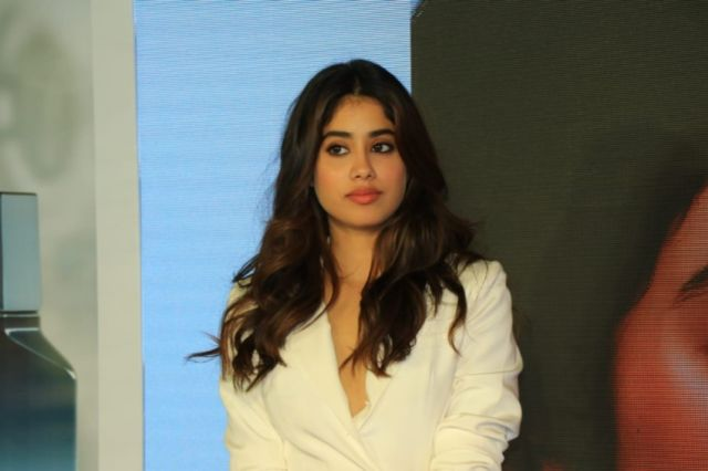 Beautiful Janhvi Kapoor At The Launch Of United Colors Of Benetton Fragrance