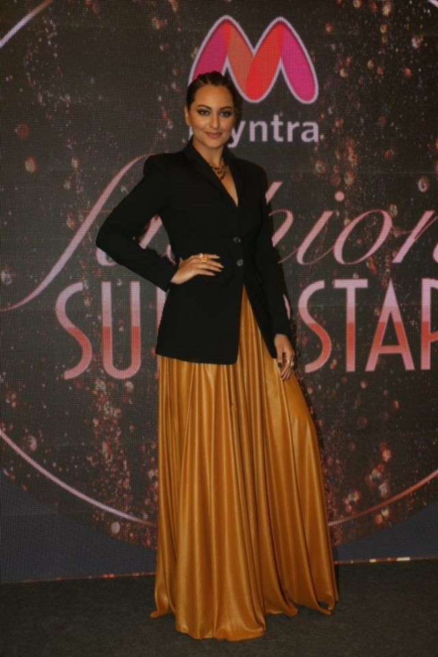 Sonakshi Sinha At The Launch Party Of First Myntra Reality Store
