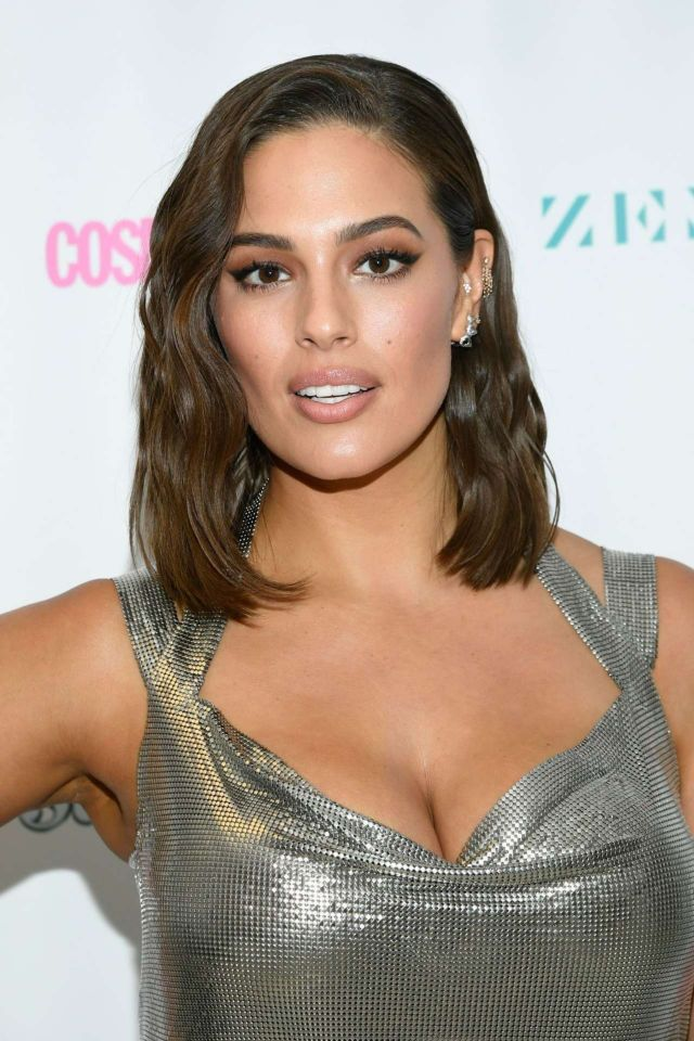 Ashley Graham At Lifetime's American Beauty Star Season 2 Live Finale