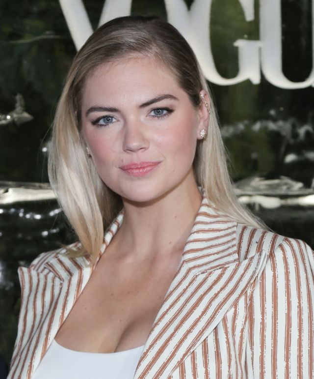 Gorgeous Kate Upton Attends Conversation About Impact Climate Change Has On The Future Of Polar Bears Event