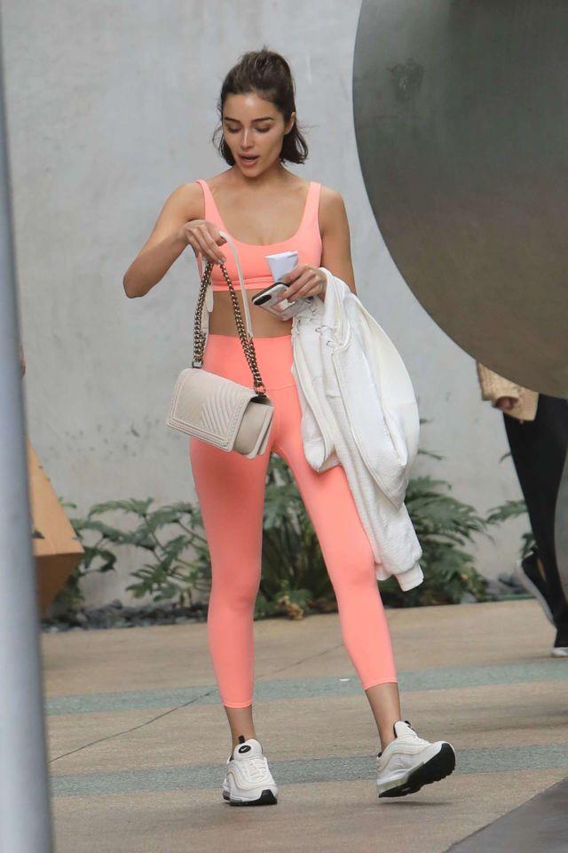 Gorgeous Olivia Culpo Leaving Wallgreen In LA