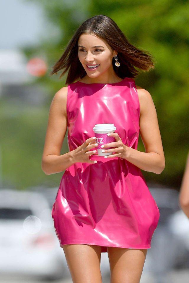 Beautiful Olivia Culpo At The W Hotel In Miami