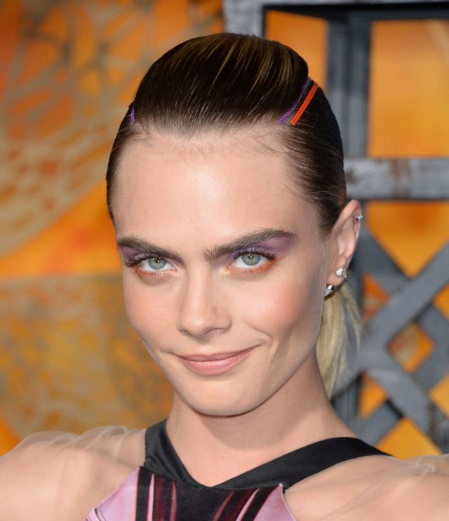 Cara Delevingne Attends The Premiere Of Carnival Row