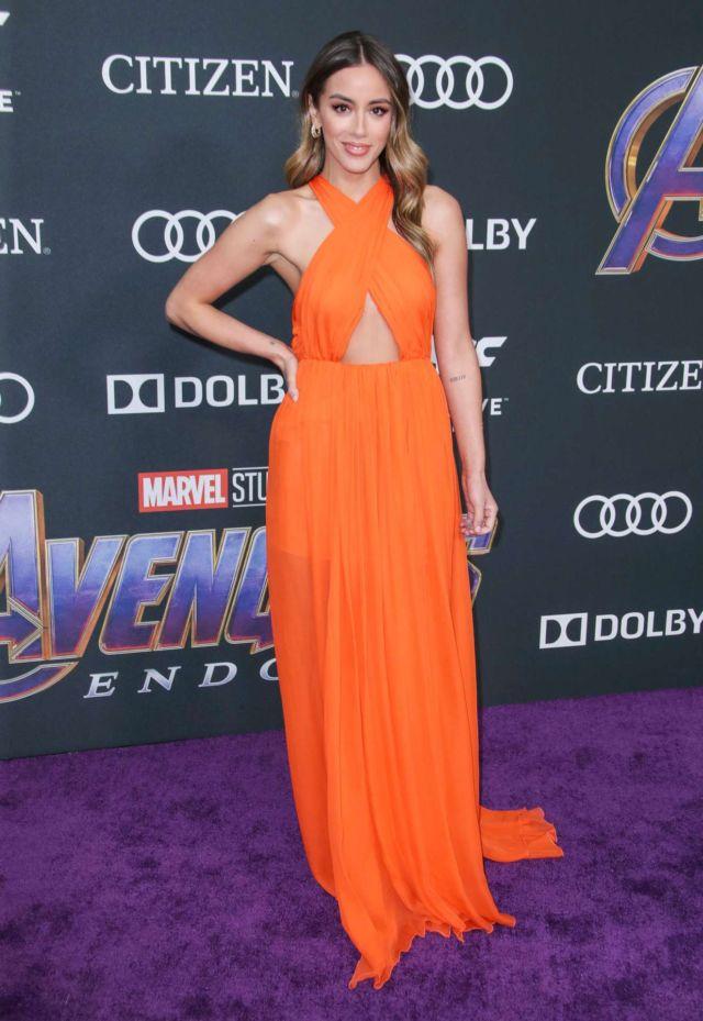 Pretty Chloe Bennet Attends The 'Avengers: Endgame' Premiere