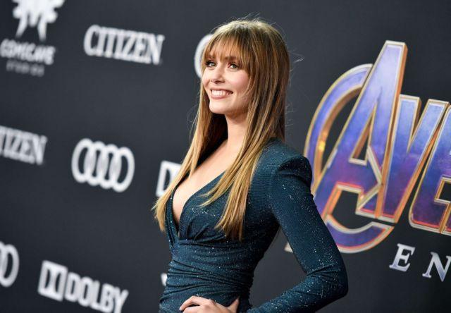 Elizabeth Olsen Attends The Premiere Of 'Avengers: Endgame' In LA