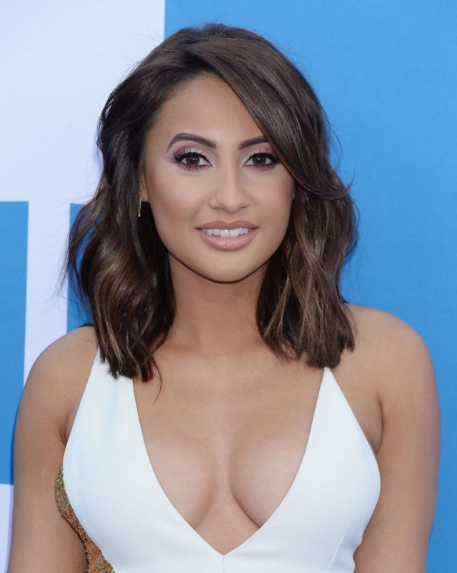 Francia Raisa Attends The Premiere Of 'Little' In Westwood
