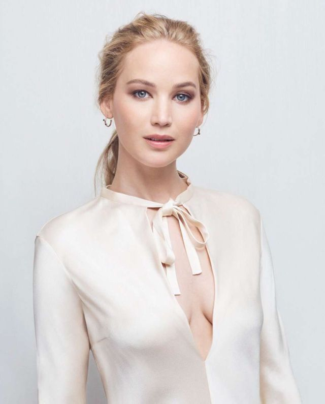 Jennifer Lawrence Shoots For Charity For Amazon Conservation Protection 2019