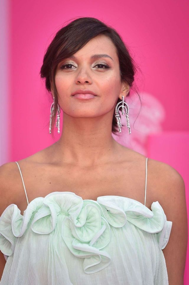 Jessica Lucas At The Pink Carpet During The 2nd Canneseries – International Series Festival In Cannes