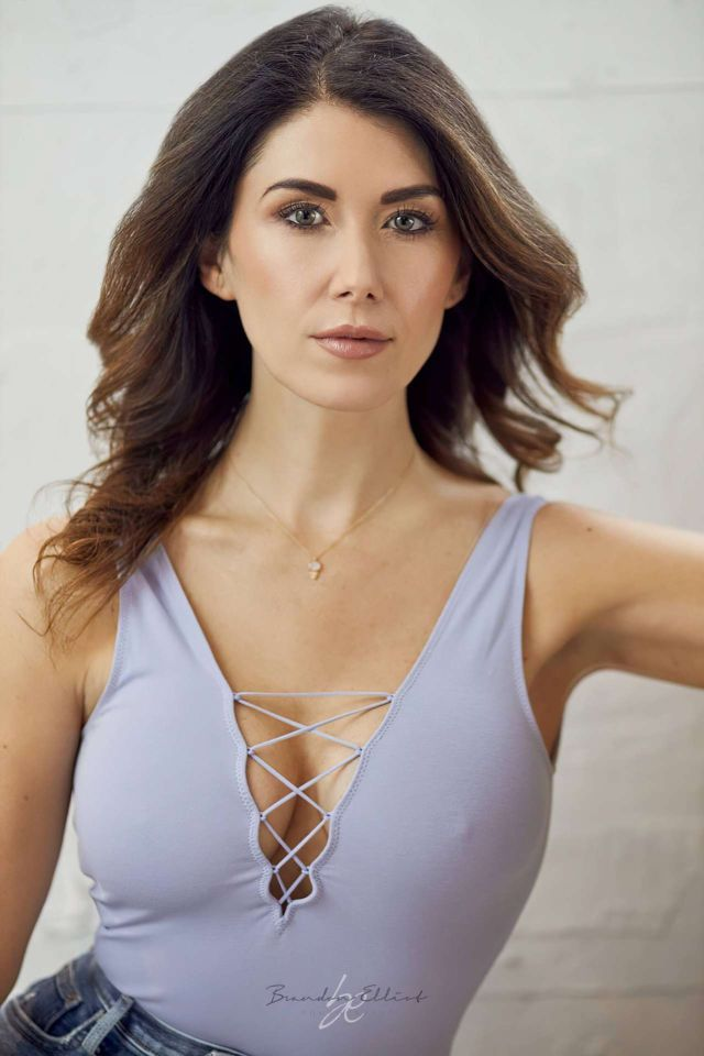 Gorgeous Jewel Staite Poses For A Photoshoot By Brandon Elliot