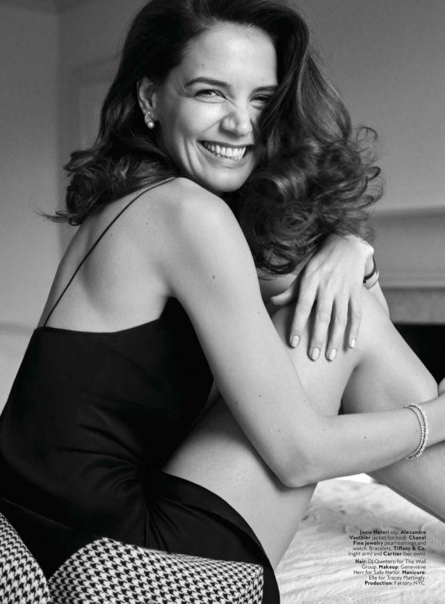 Gorgeous Katie Holmes Shoots For InStyle Magazine (April 2020)