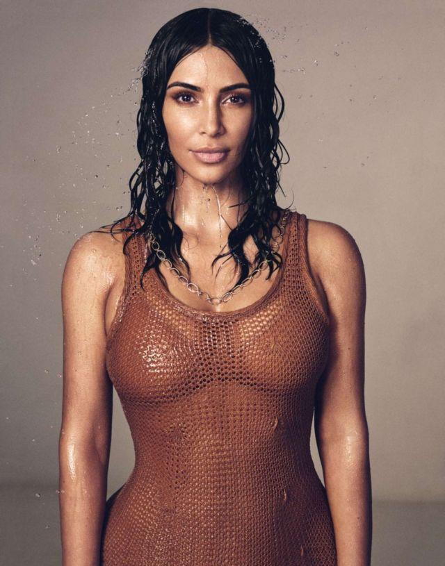 Kim Kardashian Photoshoot For Vogue Magazine May 2019