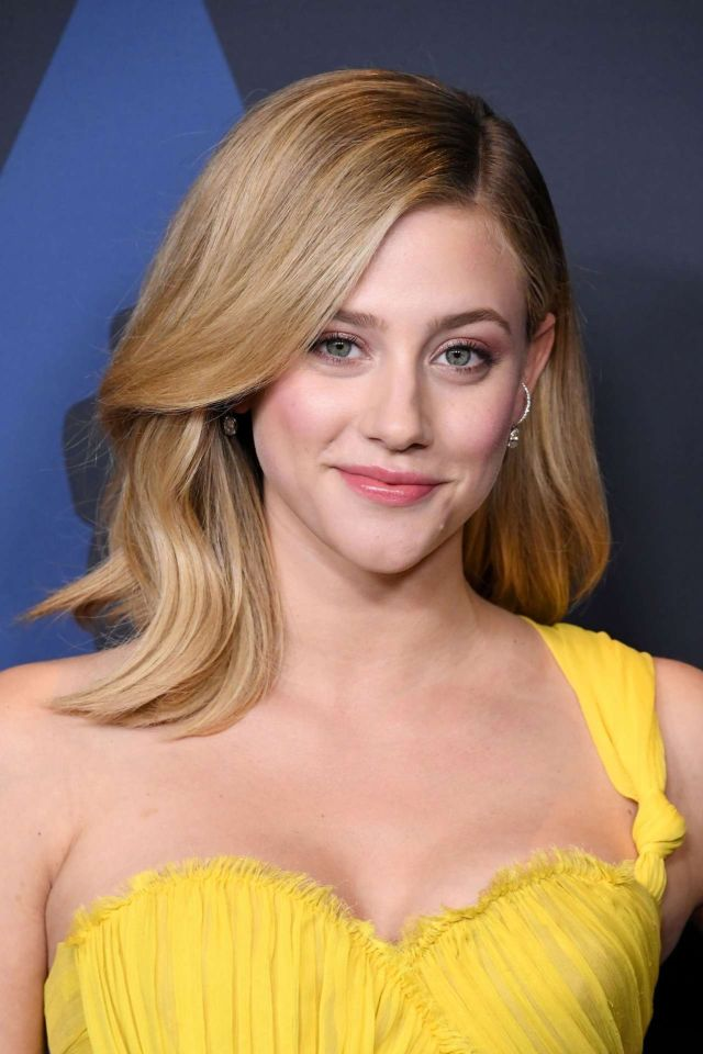 Beautiful Lili Reinhart At The 11th Annual Governors Awards