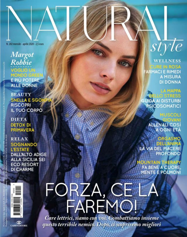 Margot Robbie Featured In Natural Style Italy 2020
