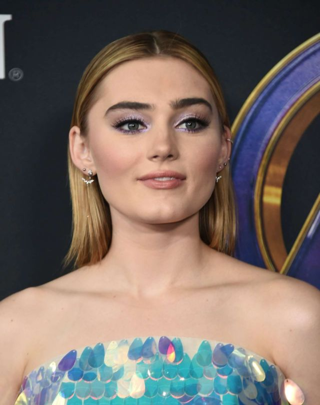 Pretty Meg Donnelly At The Premiere Of 'Avengers: Endgame'