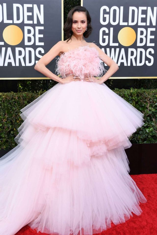 Gorgeous Sofia Carson Shines At Golden Globe Awards 2020