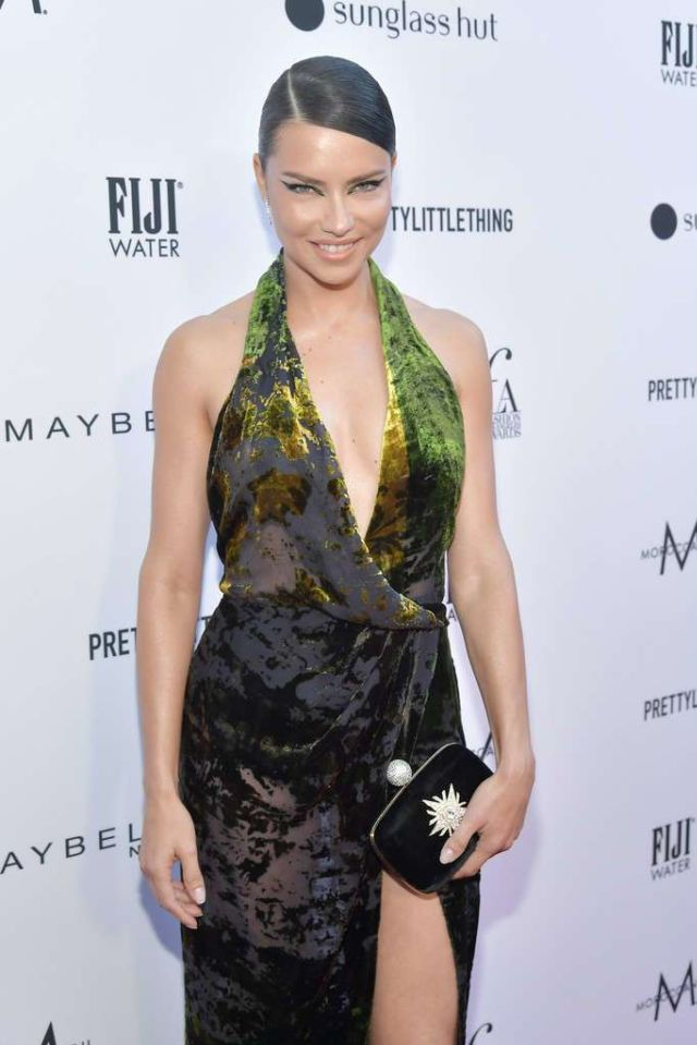 Adriana Lima In A Different Look At The Daily Front Row's 5th Annual Fashion Los Angeles Awards