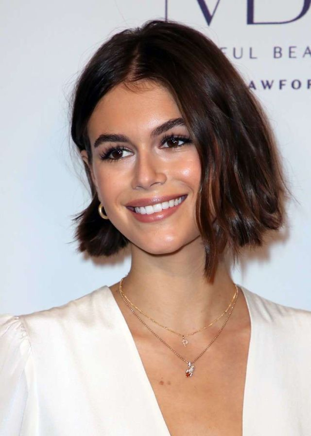 Beautiful Kaia Gerber At The Women's Guild Cedars-Sinai Annual Luncheon Event