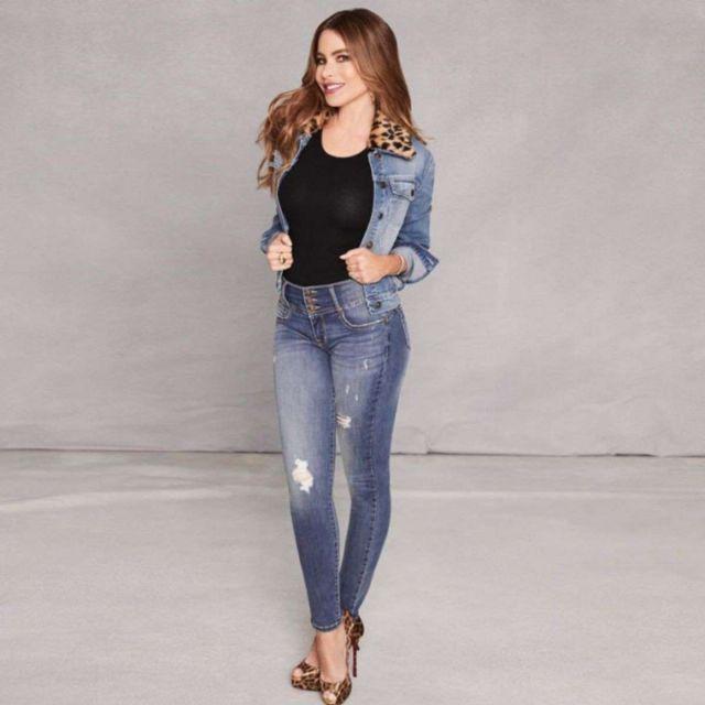 Sofia Vergara Shoots For Sofia Jeans Collection 2019