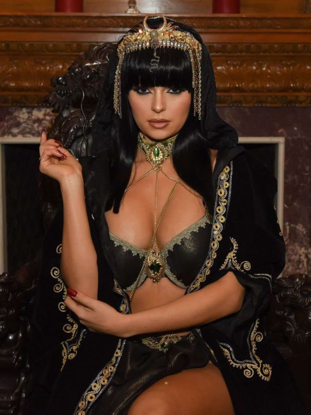 Demi Rose Mayby At The Egyptian Themed Party