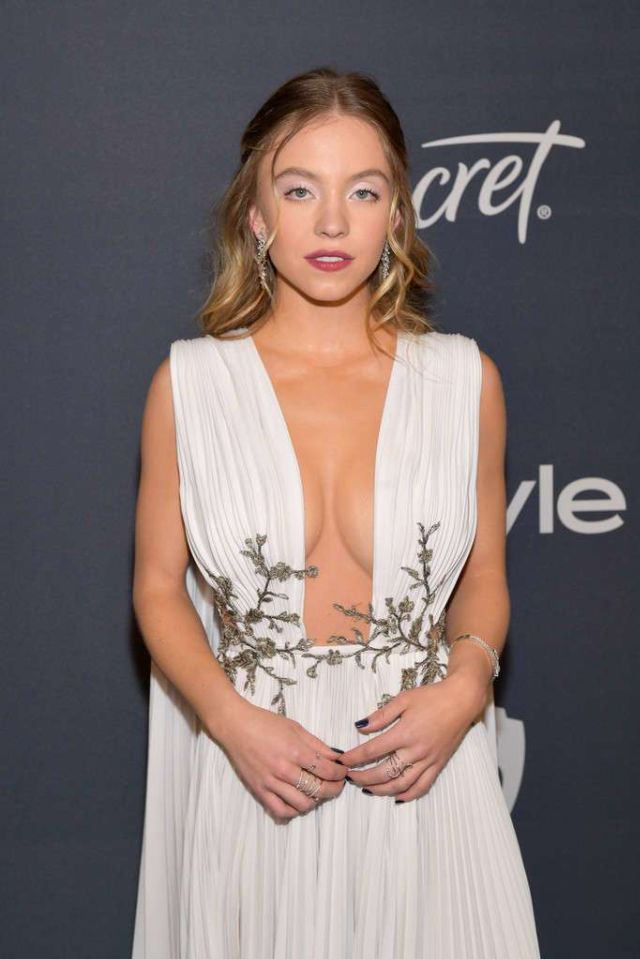 Stunning Sydney Sweeney Attends Golden Globe After Party