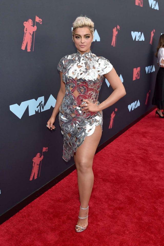 Bebe Rexha Attends 2019 MTV Video Music Awards In Newark