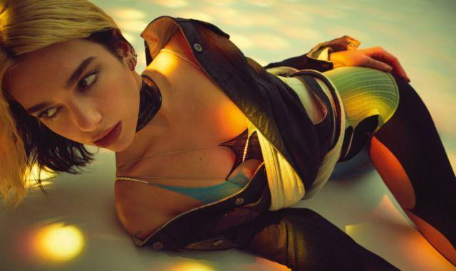 Dua Lipa Glams Up Vogue Australia Magazine - April 2020