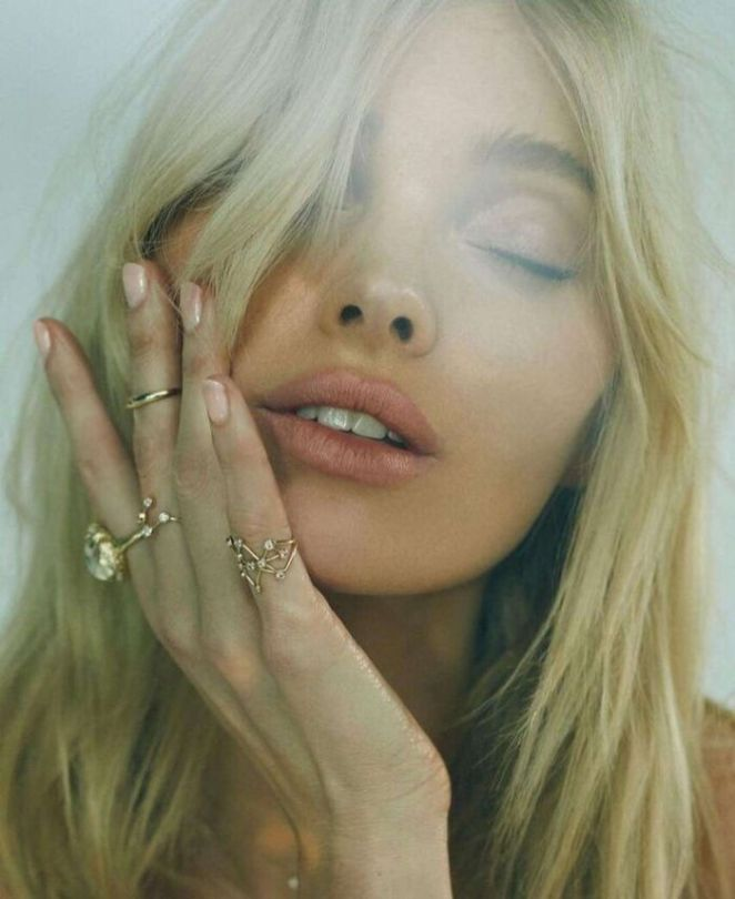 Elsa Hosk Shoots For Logan Hollowell Jewelry Collection 2019