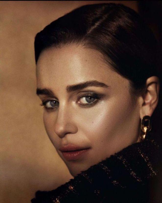 Emilia Clarke Photoshoot For Flaunt Magazine