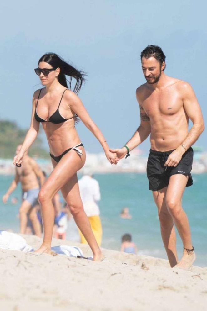 Giorgia Gabriele Enjoying Her Beach Day In Miami