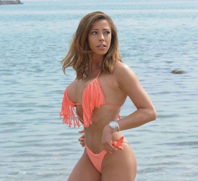 Pascal Craymer Enjoys Bikini Vacation On The Beach In Marbella, Spain