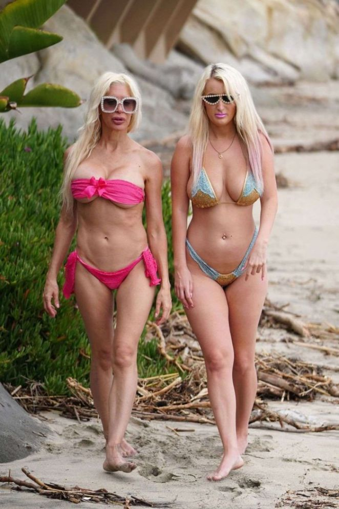 Tiffany Madison And Frenchy Morgan Hit The Beach Together In Malibu