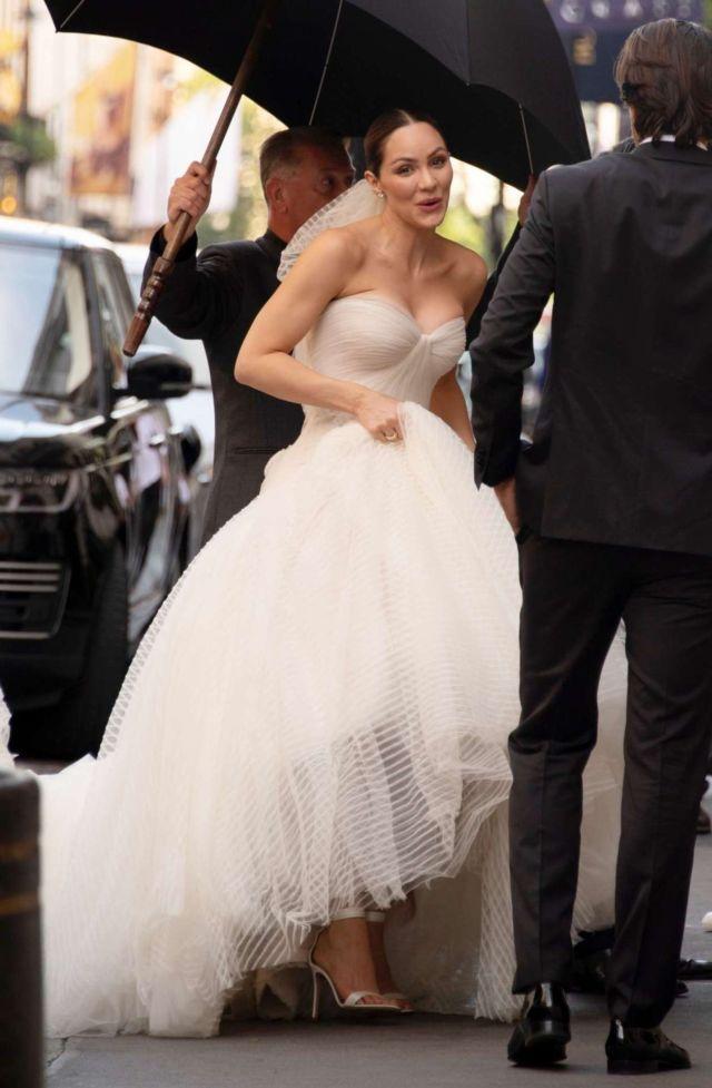 Katharine McPhee Married David Foster In London