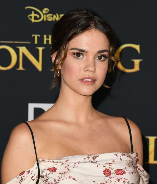 Pretty Maia Mitchell At The Premiere Of 'The Lion King' In Hollywood