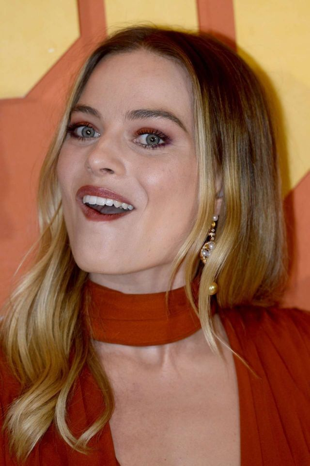 Margot Robbie Attends The Premiere Of 'Once Upon A Time… in Hollywood'