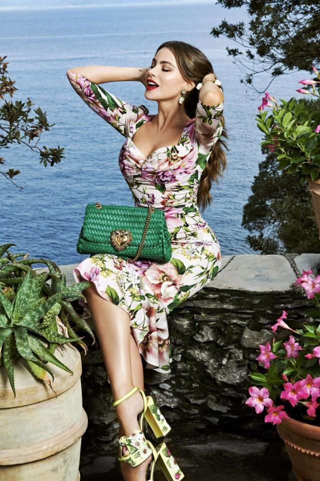 Gorgeous Sofia Vergara For Dolce & Gabbana Campaign 2020