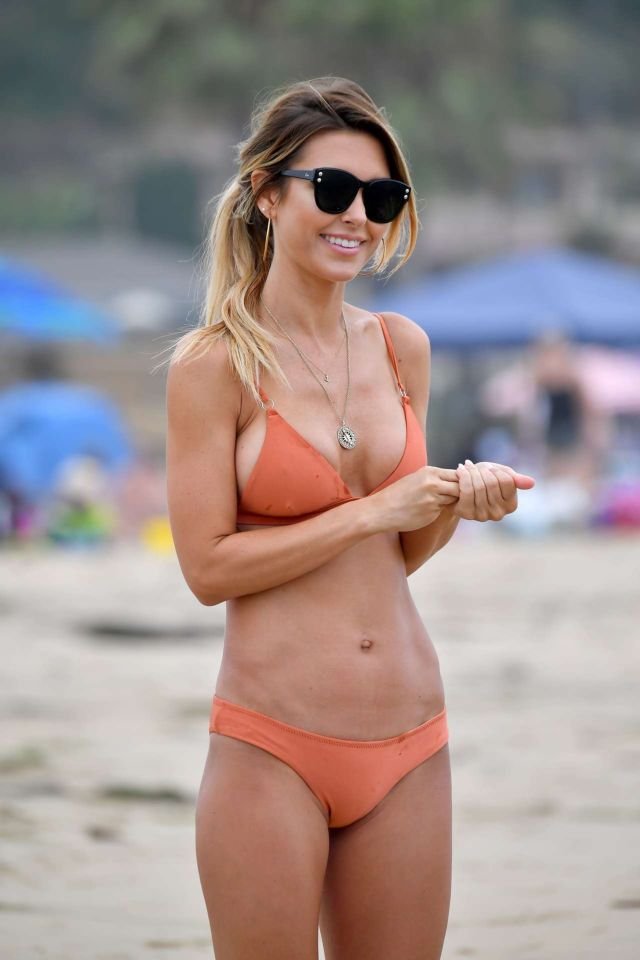 Audrina Patridge On A Bikini Vacation In Santa Monica