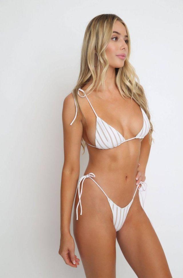 Celeste Bright Showcasing Ishine365 Swimwear Collection