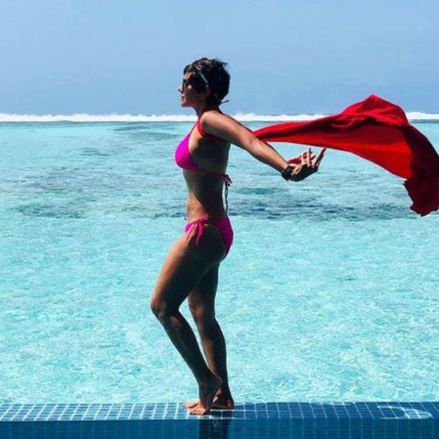 Mandira Bedi On A Bikini Vacation In Maldives