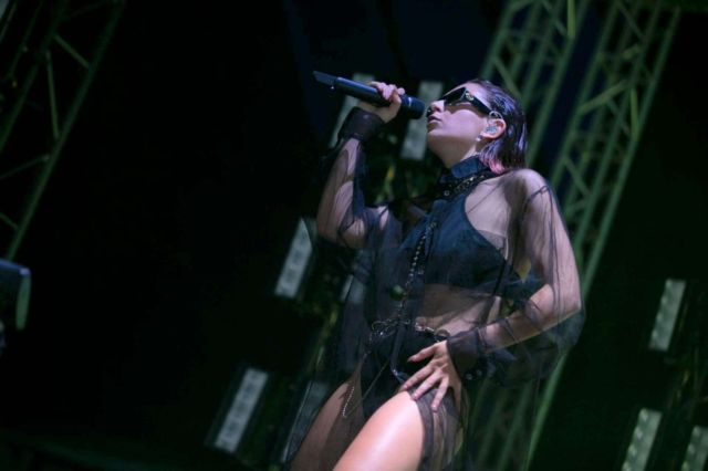 Charli XCX Performs Live At Electric Picnic Music Festival