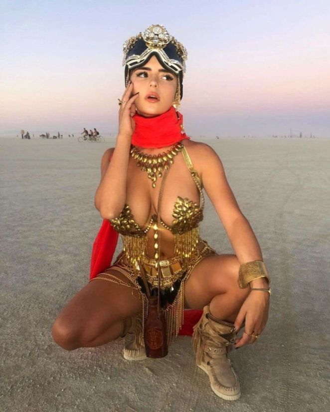 Demi Rose Mawby For A Diffferent Photoshoot At The Beach
