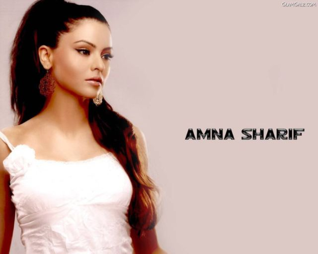 Click to Enlarge - Pretty Aamna Sharif Wallpapers