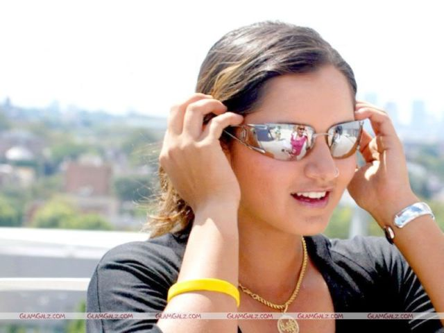 Click to Enlarge - Sania Mirza Wallpapers
