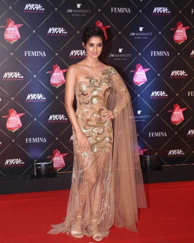 Disha Patani At Her Best For Femina Beauty Awards 2018