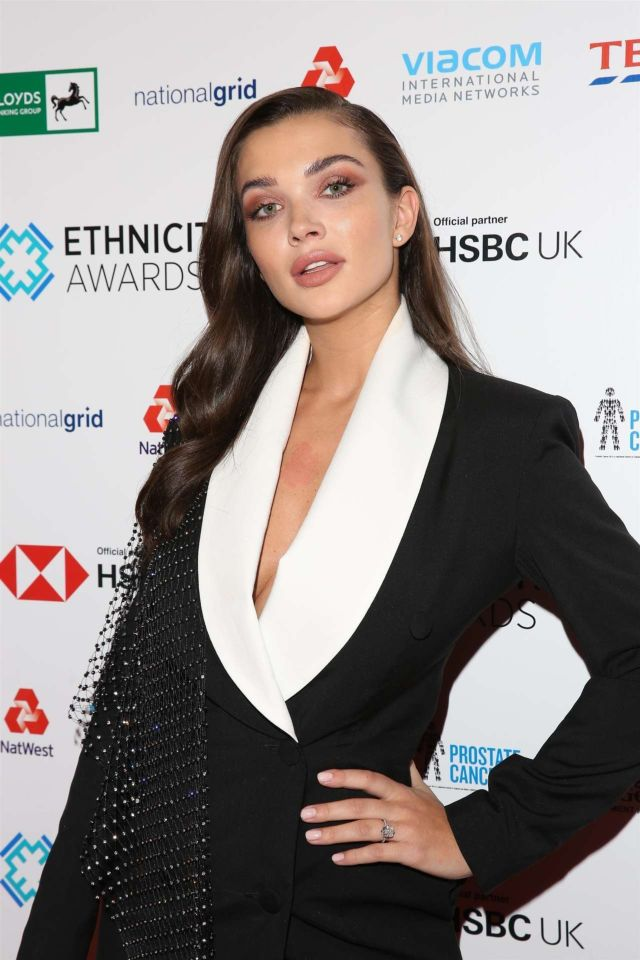 Amy Jackson At The Red Carpet Of Investing In Ethnicity Awards In London