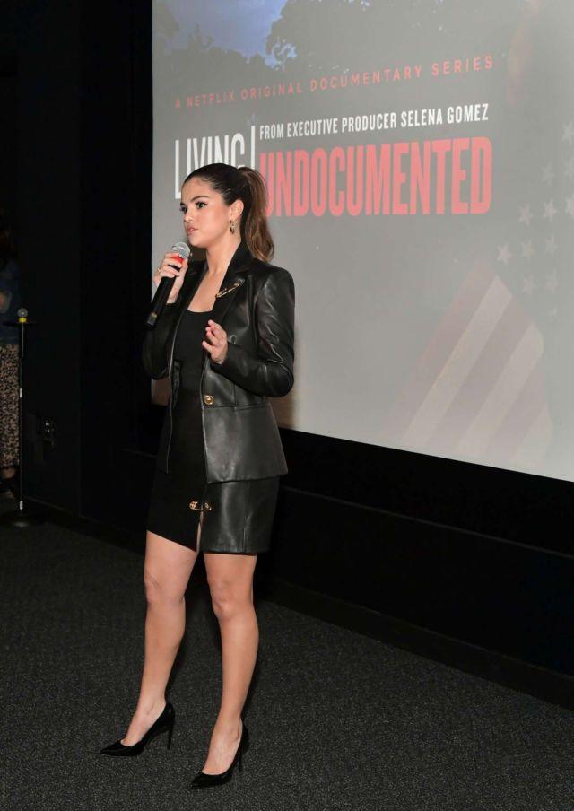 Selena Gomez At Netflix's 'Living Undocumented' Screening In Los Angeles