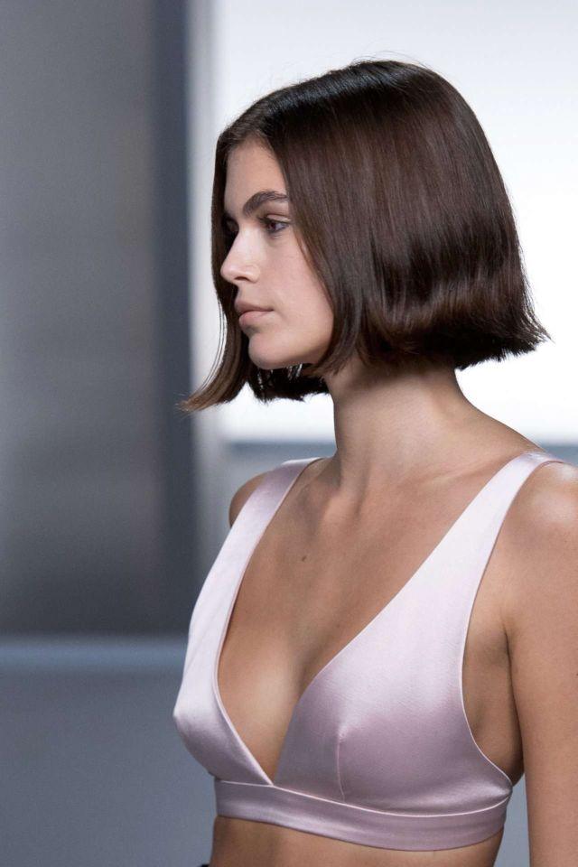 Kaia Gerber Walks For 'GIVENCHY' SS20 Fashion Show