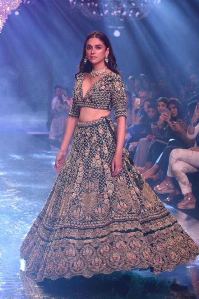 Beautiful Aditi Rao Hydari Walks At Bombay Times Fashion Week 2019