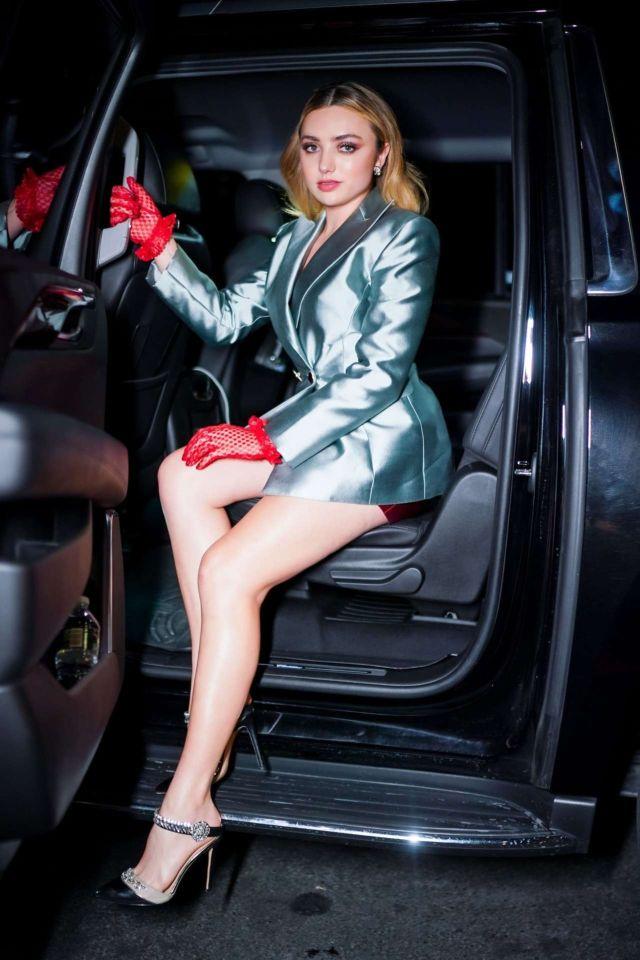 Beautiful Peyton Roi List Arrives At Guggenheim International Gala