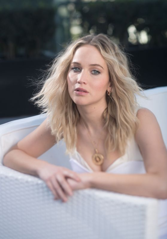 Jennifer Lawrence Excluive Shoot For USA Today