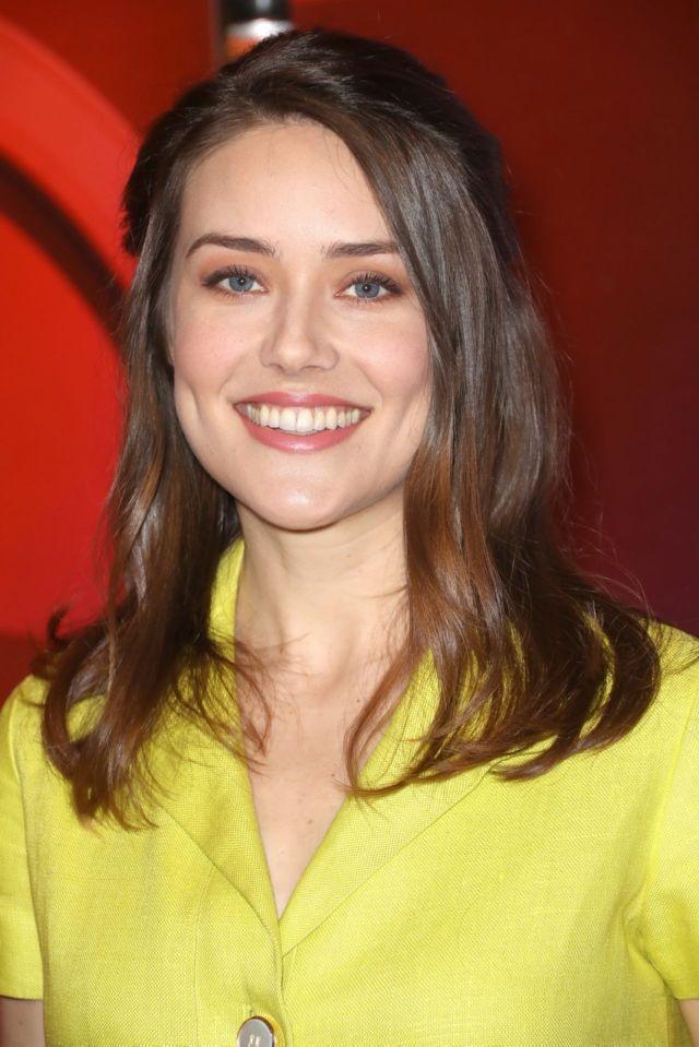 Megan Boone At The NBC Mid-Season Press Day